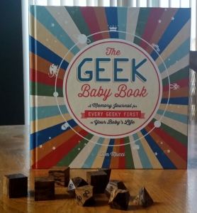 A baby book just for geeks!